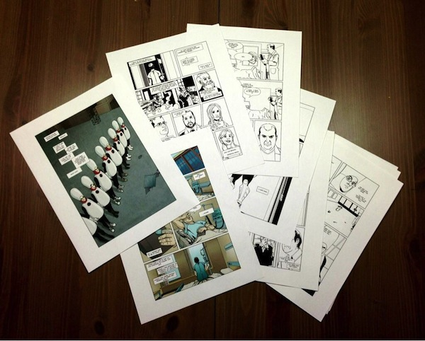 Henchmen Comic Book