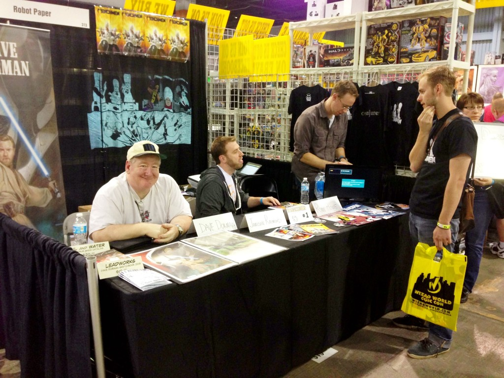 The Henchmen team at Wizard World Chicago