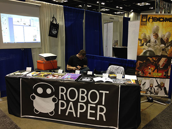 Robot Paper Booth